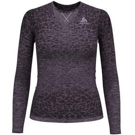 Odlo BL Blackcomb Light intimo Donna viola/nero